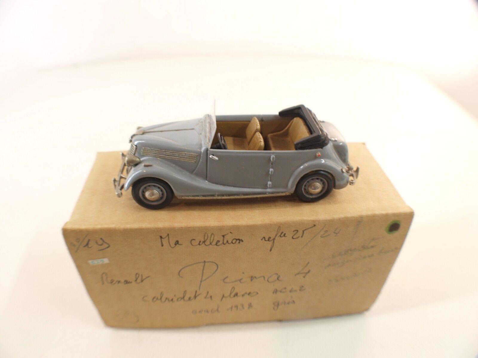 MA COLLECTION (SUISSE) 24 • Renault Primaquatre ACL2 Cabriolet Cabriolet Cabriolet 1938 •  cómodo