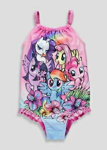 Details about My Little Pony Swim Costume Girls Toddler Infant Baby Kids MLP Wear