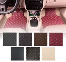 4pcs Universal Car Floor Mats For Cars Waterproof Frontamprear Non Slip Carpets Fits 2012 Toyota Corolla