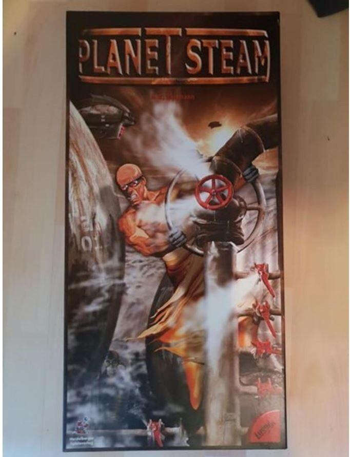 Brettspiel Planet Steam in der Erstausgabe (Edles Design)