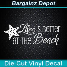 Nautical Sailing Boat Car Cooler Sticker Vinyl Decal. * SALTY SOUL Sailboat