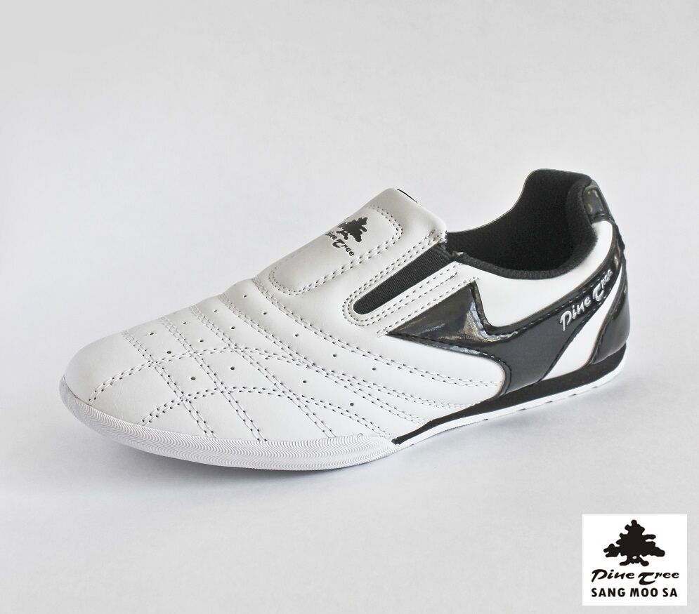f4d3db29e106db Details about Taekwondo Shoes Martial Arts Slippers White Black Budo  Trainers Tkd New Size