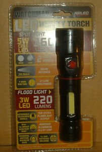 135000LM 220V 50W LED Rechargeable Work Light Torch Candle Spotlight Hand  w