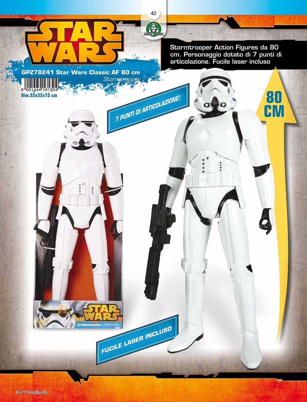 STORMTROOPER STAR WARS 79 CM Personaggio Guerre Stellari Giocattoli 024 GPZ78241