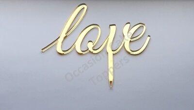 Love Wedding Cake Topper Anniversario/fidanzamento Cake Topper-mostra Il Titolo Originale