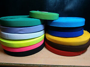 Elastic-20mm-Check-Pattern-Tape-Webbing-Strap-Braces-Waistband-17-Colours