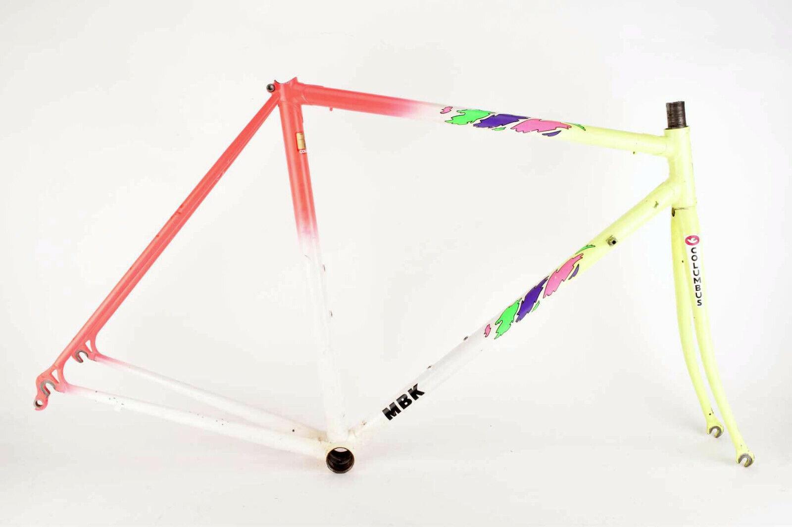 MBK Super Record Team Lotto frame in 52 cm (c-t) 50.5 cm (c-c) Columbus SLX