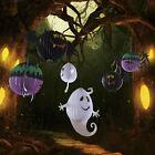 New Halloween Hanging Lantern Bat Spider Ghost Shape Paper Party Decoration