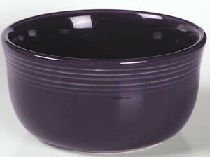 Fiesta-PLUM-Post-86-Gusto-Bowl-2nd-Quality-Discontinued-Color-FREE-SHIP