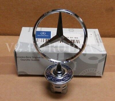 Mercedes-Benz S E C CLK Class GENUINE Hood Flat Star Emblem Conversion NEW OE