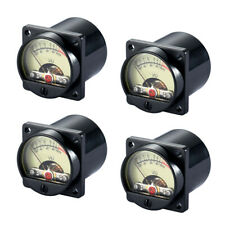 4x Analog Vu Panel Meter Audio Level Amp With Back Light High Precision