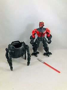 Star-Wars-Hero-Mashers-Deluxe-Darth-Maul-Action-Figure-Loose-Complete