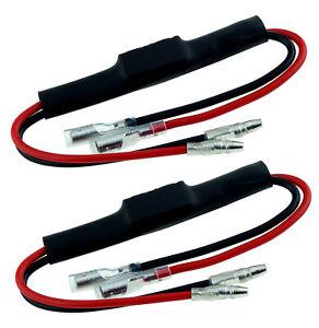 2 Widerstände Lastwiderstand LED Blinker Leistungswiderstand Mini 5W Watt 29 ohm
