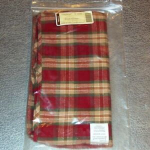 Longaberger-Orchard-Park-Plaid-CRAFT-KEEPER-Basket-Liner-Brand-New-in-Bag