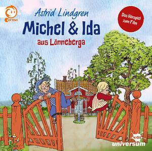 Astrid-Lindgren-Michel-amp-Ida-aus-Loenneberga-Hoerbuch-Hoerspiel-CD-NEU
