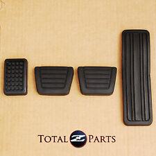 Datsun 240z 260z 280z Gas Clutch Brake Foot Rest Pedal Pads Set *NEW, OEM*