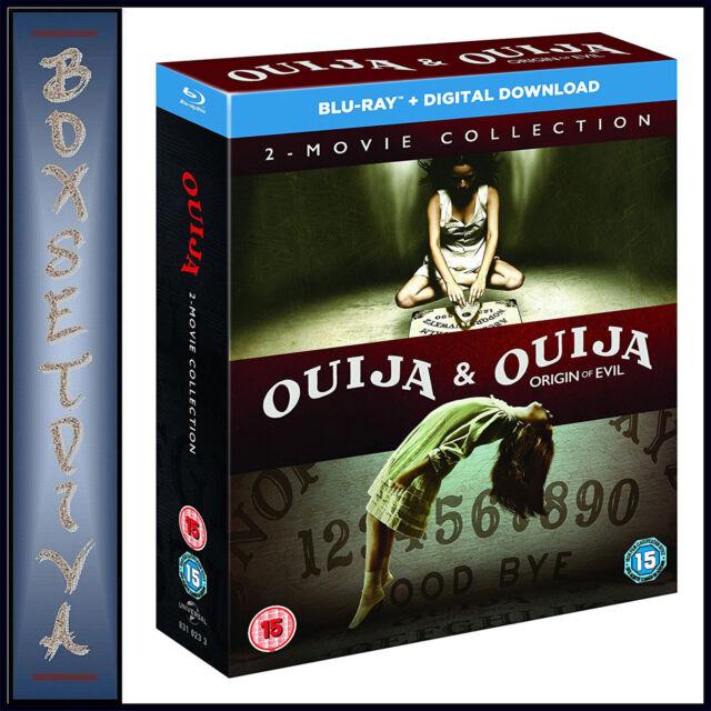 OUIJA & OUIJA ORIGIN OF EVIL - 2 MOVIE COLLECTION **BRAND NEW BLU-RAY BOXSET***
