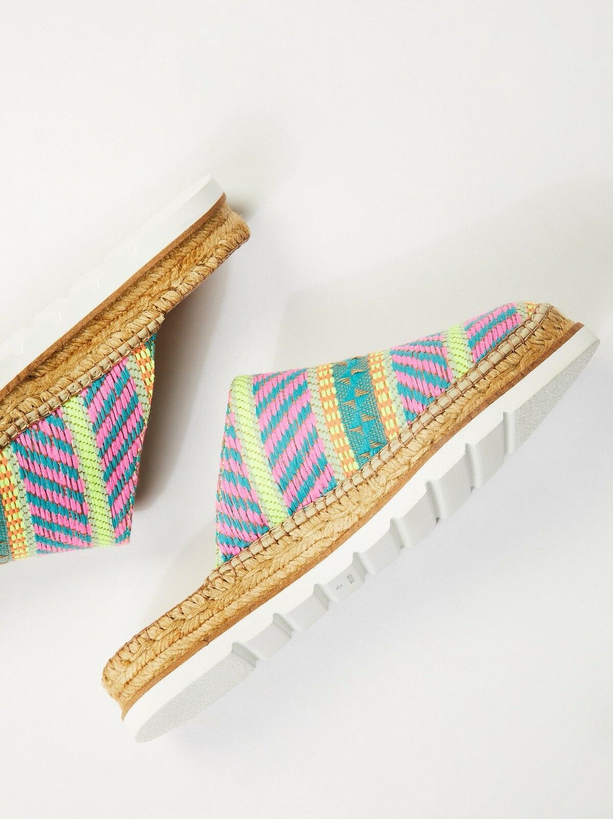 Free People Solstice Espadrille Mule Size 7 New MSRP   108