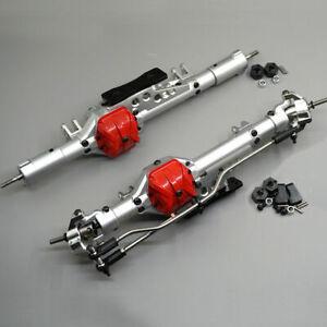 Eje-Delantero-Trasero-De-Aluminio-Set-Para-1-10-Axial-Wraith-90018-90020-Rc-Rock-Crawler