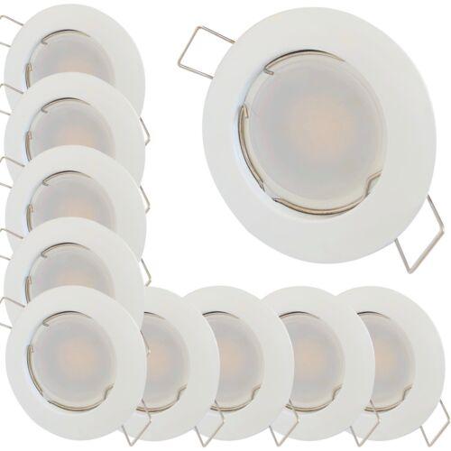 LED Einbauleuchten Tom230Volt9 Watt900 LumenWeissBohrung 55-/>60mm