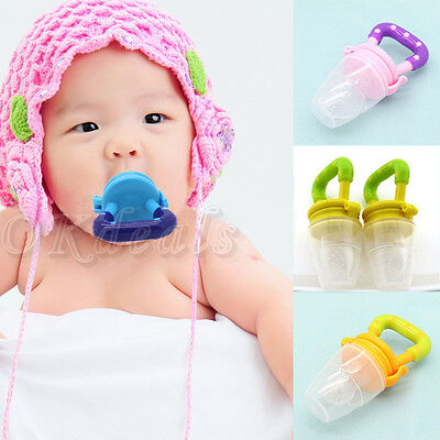 Baby Pacifiers for feeding Fresh Food Baby Supplies Nibbler Feeder Feeding Tool