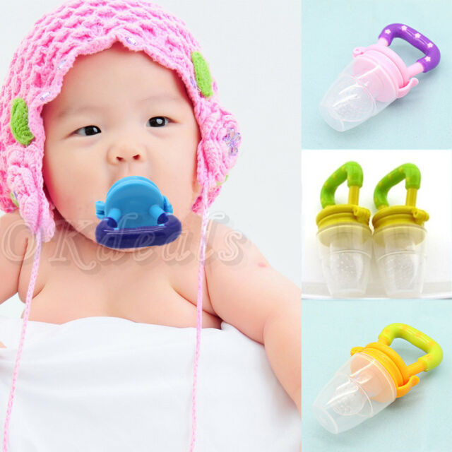 Baby Pacifiers for feeding Fresh Food Baby Supplies Nibbler Feeder Feeding Tool