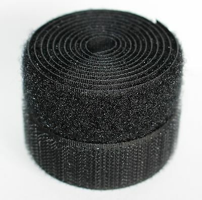 Hook /& Loop circular puntos por velcro en un paquete de 16 Negro Nuevo