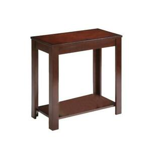 Traditional-Style-CHERRY-Finish-Side-End-Table-24-Inch-Height