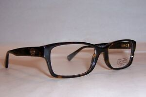 34850d764df9 NEW COACH EYEGLASSES BROOKLYN HC 6040 TORTOISE 5001 52mm AUTHENTIC ...