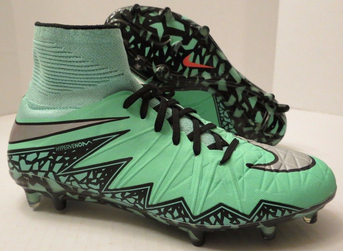 Nike hypervenom Phantom II 2 FG soccer cleats 747213 308 precio Verde Glow reducción de precio 308 b0e51e