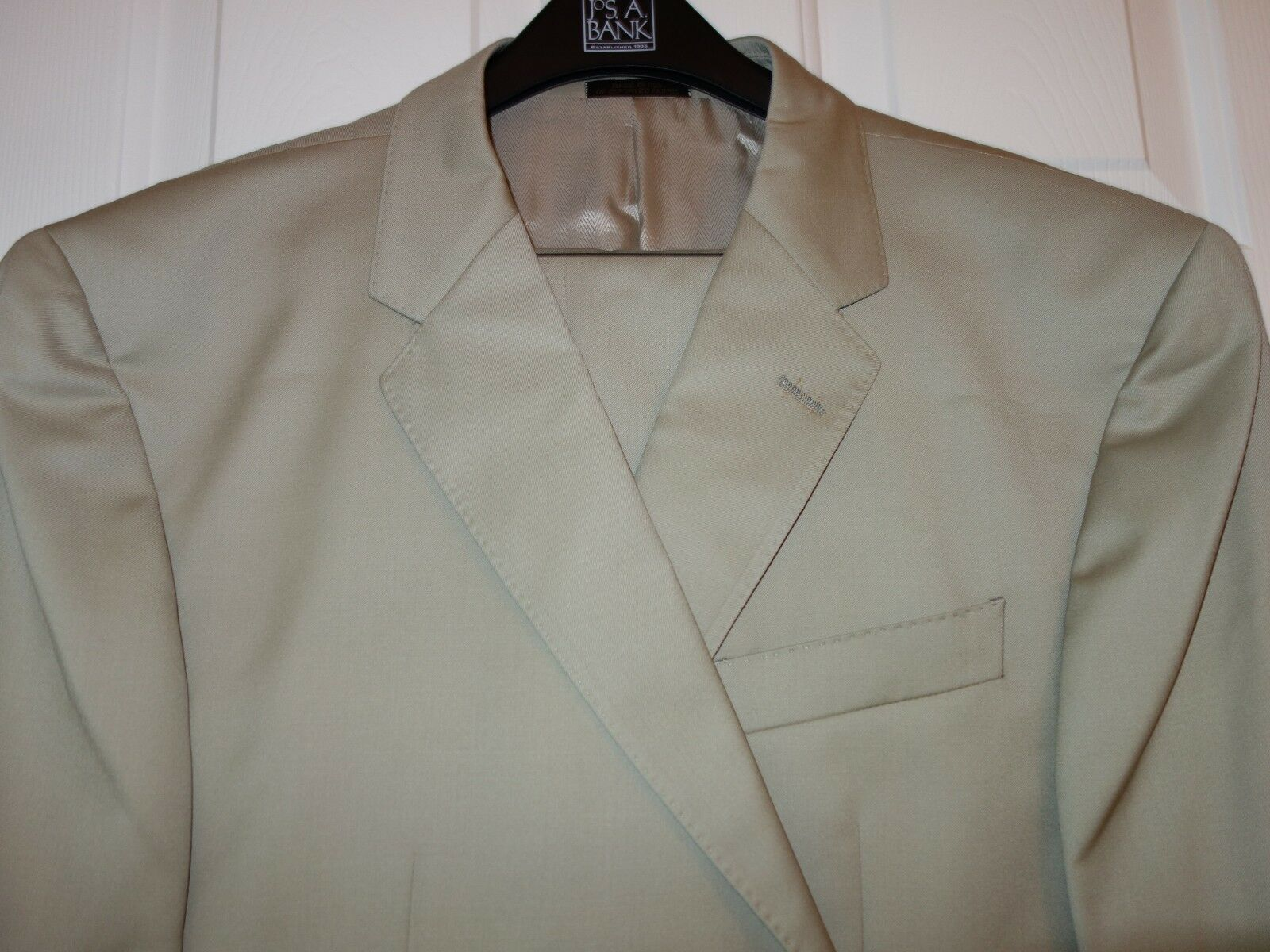 NEW Jos. A. Bank RESERVE WOOL Herren SUIT sz. 46 S W 40 MADE IN USA