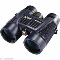 bushnell 8x42 h2o roof prism binocular multicoated optics w case 158042