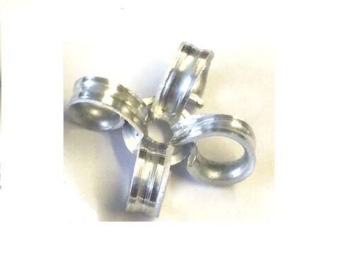 3,2 mm x 14mm tige de corps en aluminium acier peel pelées dôme tête Rivet 25 Pack
