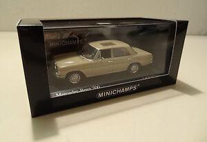 Mercedes-Benz-200-Benziner-8-Strichacht-W-115-beige-Minichamps-1-43