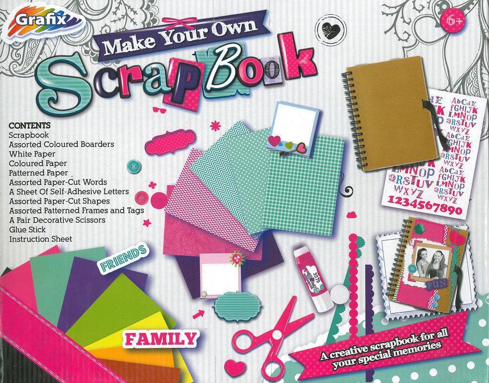 Make Your Own Scrapbook Scrapbooking Design Kit 100s Of