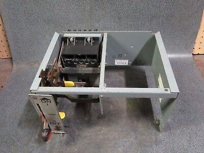 "SQUARE D MODEL 5 MCC 8-9/"" FEEDER BUCKET MINI STACK W// 30 AMP FUSIBLE FEEDER"