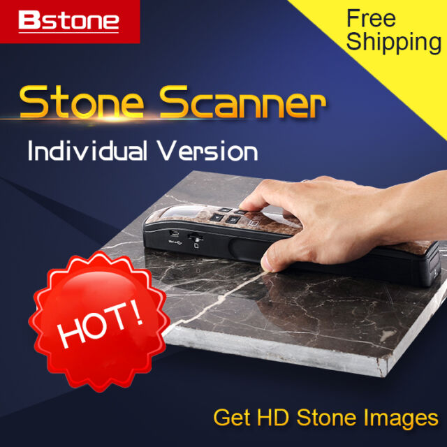 Bstone Scanner,Scan Stone Picture,Get High Def Stone Images,Individual Version