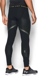 1f1bdc735e Details about NEW men's Under Armour HeatGear Armour Zone Compression tight  | MED | black