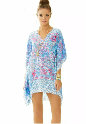 Lilly Pulitzer Lindamarie Caftan Dress XXS/XS 100%