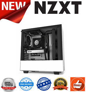 NZXT-H510-Matte-White-Black-Compact-Mid-Tower-Case-with-Tempered-Glass