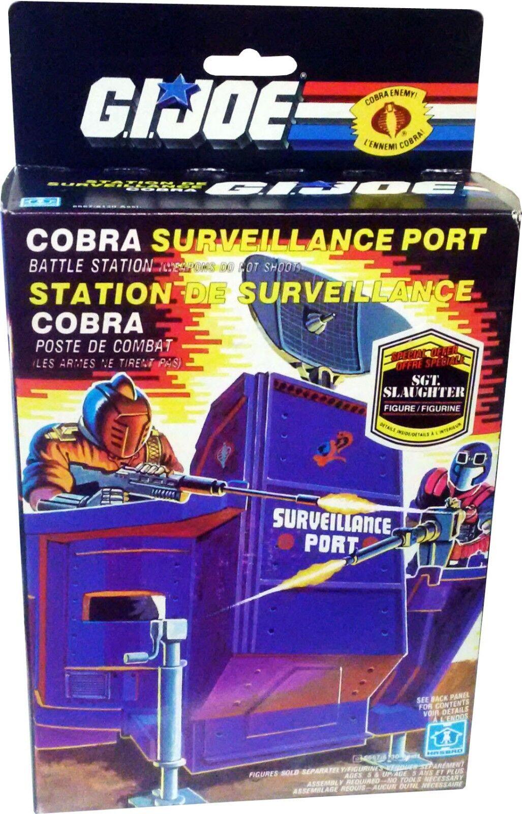 G.I.Joe Cobra Surveillance Port - Vintage 1986 - Collectible   New   - MISB