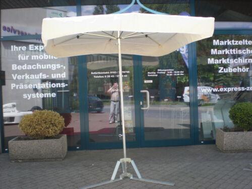 20kg Fuß !!! NEU Marktschirm Marktstand Umbrella Schirm Messestand 2 x 2m inkl