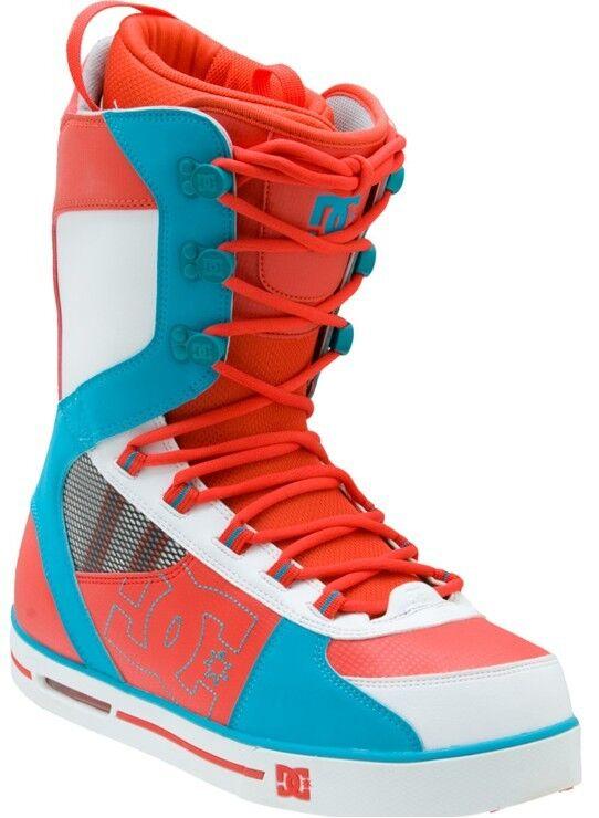 NIB DC Park Snowboard Boots Red White bluee Men's Size 5 M Mrsp