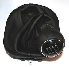 VW CADDY MK3 04-10 TOURAN 03-10 GEAR SHIFT STICK GAITER KNOB 5 SPEED