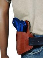 Barsony Burgundy Leather Belt Slide Gun Holster Steyr Walther Full Size 9 40