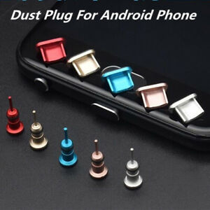 Metal-Anti-Dust-Plug-3-5mm-Charger-Dock-Stopper-Cap-Port-Cover-For-Android-Phone