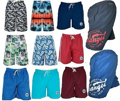 Duke & Kangol Swimming Shorts Trunks Pants Beachwear Mesh Lining Sizes M-8xl Entlastung Von Hitze Und Sonnenstich