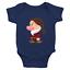 Infant-Baby-Rib-Bodysuit-Jumpsuit-Romper-Babysuit-Clothes-Seven-Dwarfs-Grumpy thumbnail 4
