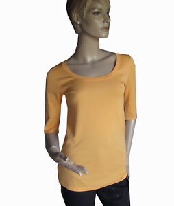NEU MARCCAIN Basic Shirt Gr. 34 40 42 44 orange T-Shirt N1 N4 N5 N6 Pulli melone