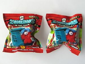 ZOMLINGS IN THE TOWN SERIES 1 Lot de 9 Blind Bags